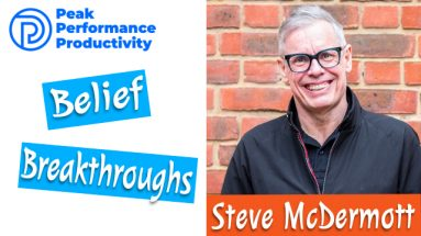 self limiting beliefs with Steve McDermott